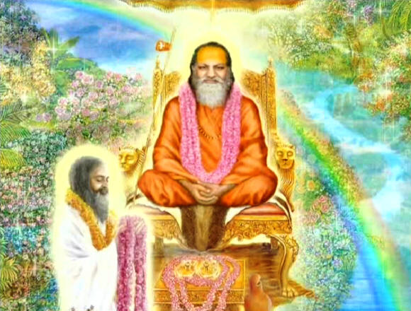 Maharishi and Guru Dev
