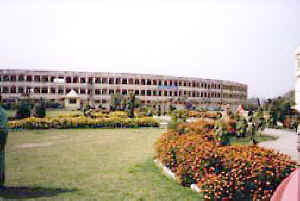 Building at Maharishi Nagar